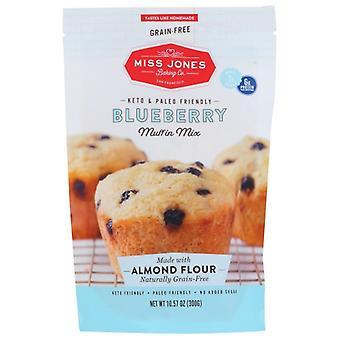 Miss Jones Baking Co Mix Blueberry Muffin, Case of 6 X 10.57 Oz