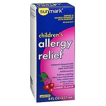 Sunmark Sunmark Allergy Relief Liquid, Cherry 8 Oz