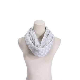 Sciarpa Infinity - Bianco - I1637-5