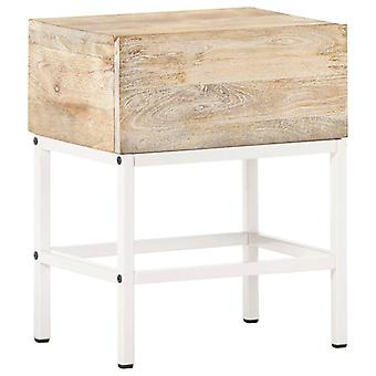 vidaXL Bedside Table 40x30x50 cm Mango Solid Wood