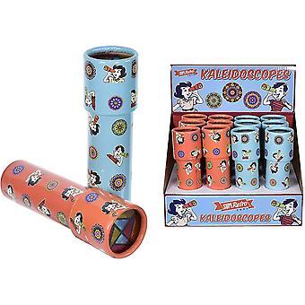 TY9027 SuperRetro Kaleidoskop, buntes Retro-Geschenk für Kinder und Erwachsene