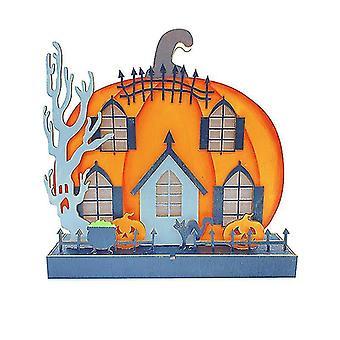 ハロウィーンのカボチャライトハロウィーンのカボチャは、屋外の装飾を導いた