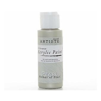 Pärlemor hantverk Artiste alla ändamål akryl Craft Paint - 59ml