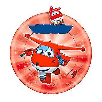 Flygende treplater, profesjonell ultimate flygende stor flygende plate frisbee (rød)