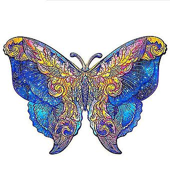 Children's Gift Butterfly Wooden Jigsaw Puzzle(170pcs)