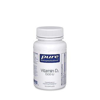 Pure Encapsulations Vitamin D3 1000iu Capsules 120 (VD11UK)