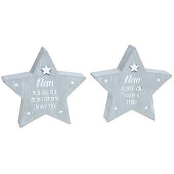 Cool Grey Standing Star Nan