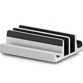 Stand de laptop vertical reglabil cu două sloturi Proiectat 2 slot