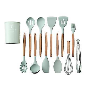 Venalisa 12pcs Silikon Küchengeschirr Set Küchenutensilien Kit Kochschaufel für Antihaft-Kochgeschirr