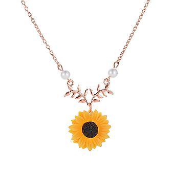 Auringonkukan lehtihaara kaulakoru