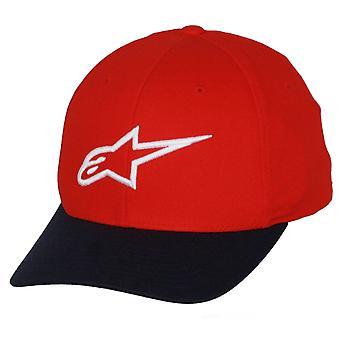 Alpinestars Flexfit Kurve Cap ~ Ageless R/Nvy