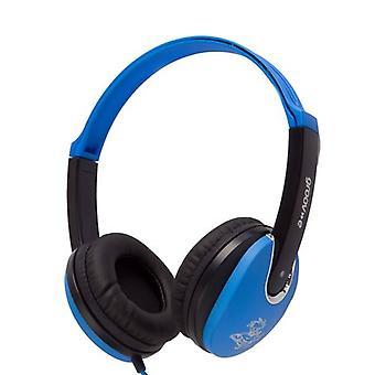 Groov-e Kids DJ Style Headphone - Blue/Black (GV590PBB)
