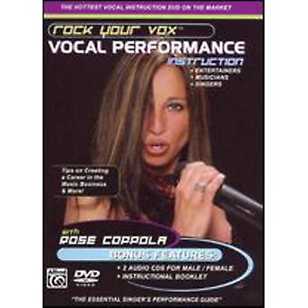 Rock Your Vox-Vocal Performa [DVD] USA import