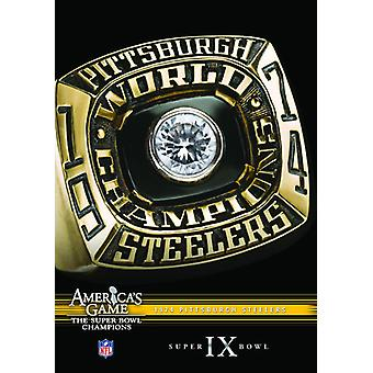 NFL America's Game: 1974 Steelers (Super Bowl IX) [DVD] USA import