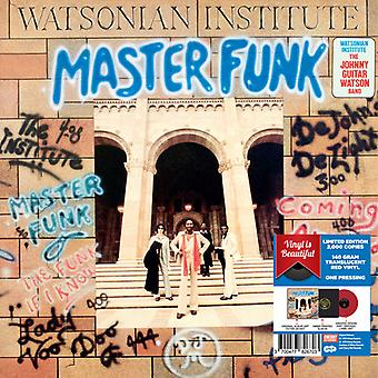 The Watsonian Institute - Master Funk - Red Vinyl 2017 Limited Edition [Vinyl] USA import