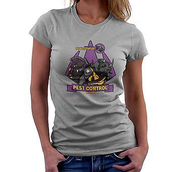 Pest Control Bebop and Rocksteady Teenage Mutant Ninja Turtles Women's T-Shirt