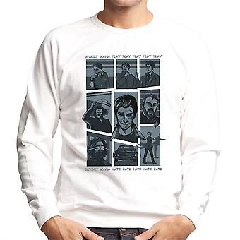 Supernatural Parody Song Hillywood Show Sam And Dean Winchester Men's Sweatshirt
