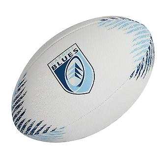 GILBERT Cardiff Blues Beach Rugby-Ball