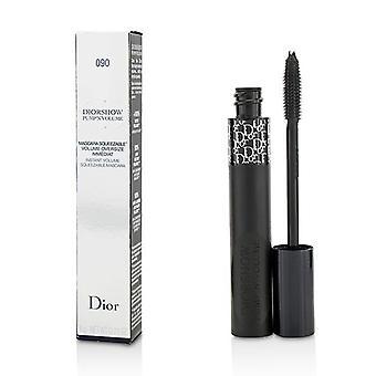 Christian Dior Diorshow Pumpe N Volumen-Mascara - # 090 Schwarze Pumpe - 6g/0,21 oz