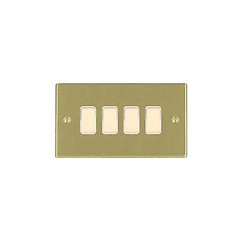Гамильтон Litestat Hartland атласная латунь 4g 250W M-Way Touch рангоута SB/BL