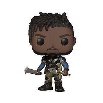 Funko POP Marvel: Black Panther Movie- Erik Killmonger Collection Figure