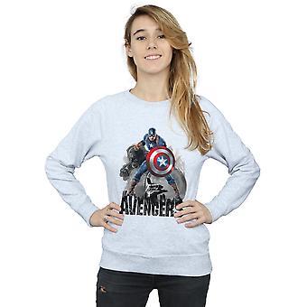 Wonder Women's Captain America actie Pose Sweatshirt