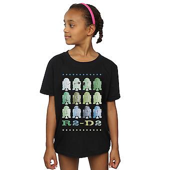 Star Wars T-Shirt für Mädchen grün R2-D2