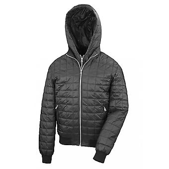 Result Mens Urban Outdoor Stealth Hooded Jacket
