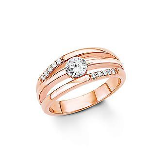 anello di s. Oliver gioiello signore argento zirconi oro Rosé SO1321
