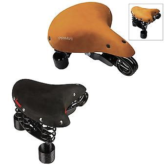 Lynne Primus Lounger line bicycle seat / / women's (black/natural)