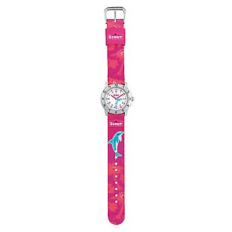 Scout child watch learn action girls - Dolphin girl 280378010
