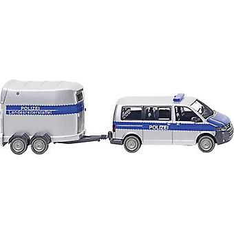 WIKING 0308 07 H0 Volkswagen T5 Multivan de GP avec remorque