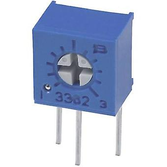 Bourns 3362W-1-203LF afpudsning Potentiometer THT 3362 0.5W fast justerbar sidevendt 20 kΩ 0,5 W ± 10%