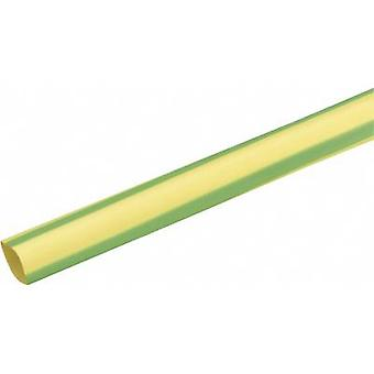 DSG Canusa 3210064613 Heatshrink w/o adhesive Green, Yellow 6.40 mm Shrinkage:3:1 Sold per metre