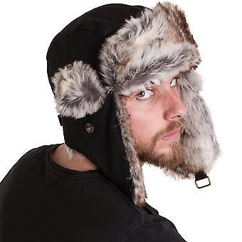 Regard extérieur Mens Aberfeldy trappeur cosaque molleton doublé Hat