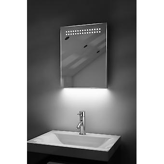Ambient Ultra-Slim LED Bathroom Mirror With Demister Pad & Sensor K8T