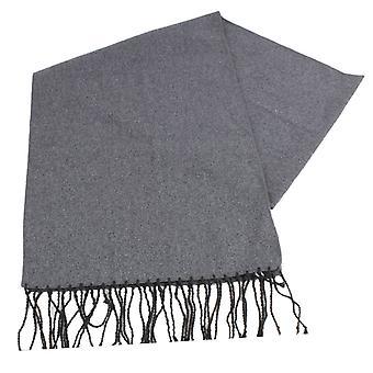 Найтсбридж Neckwear равнина шерстяной шарф - серый