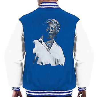 Nina Simone At The Royal Albert Hall 1998 Men's Varsity Jacket