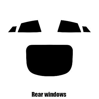 Pre cut window tint - Tesla Model S - 2012 and newer - Rear windows