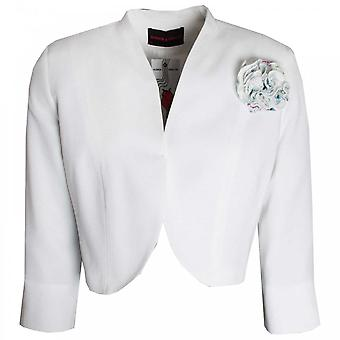 Hudson & Onslow Edge To Edge 3/4 Sleeve Short Jacket