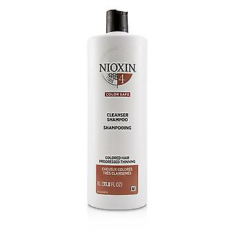Nioxin Derma Purifying System 4 Cleanser Shampoo (colored Hair Progressed Thinning Color Safe) - 1000ml/33.8oz