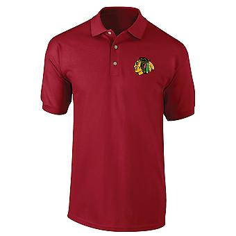 Chicago Black Hawks Nhl Polo