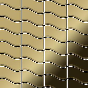 Metal mosaic Titanium ALLOY Flux-Ti-GM