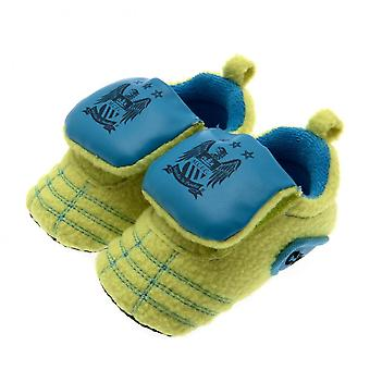 Manchester City FC Baby Neon Crib Boots