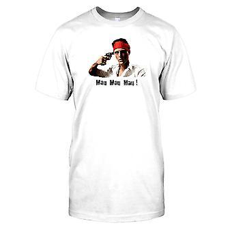 Mau mau-Deer Hunter-nicks roleta russa Mens camiseta