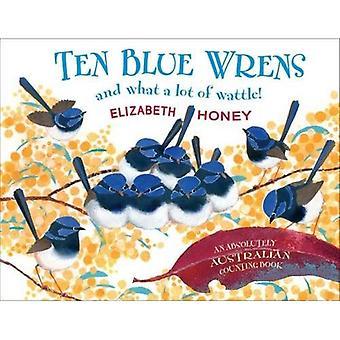 Dieci scricciolo azzurro
