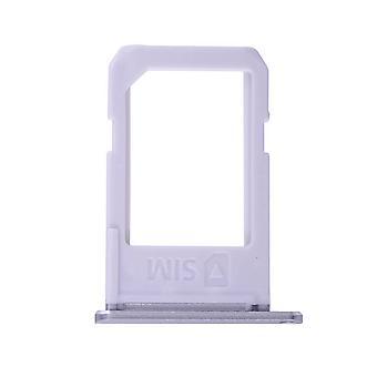 Para Samsung Galaxy S6 Edge Plus - SM-G928 - Bandeja de Cartão SIM - Prata