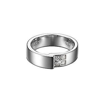ESPRIT women's silver ring cubic zirconia ESRG91406A1 tangent