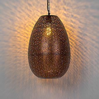 QAZQA Oriental Pendant Lamp Copper - Maruf 1