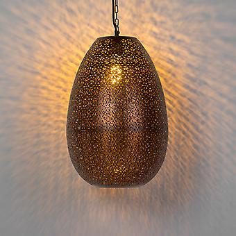 QAZQA orientalische Pendant Lamp Kupfer - Maruf 1